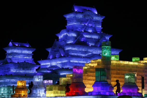 CHINA-FESTIVAL-WINTER