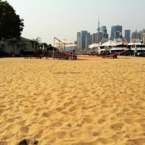 Praia em Shanghai