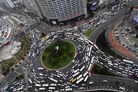 Transito em Shanghai