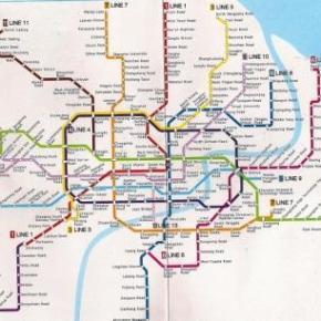 Metro em Shanghai