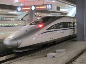 De trem bala paraHangzhou