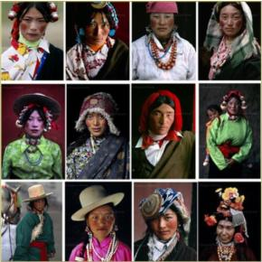 As minorias étnicas e a migração paraShanghai.