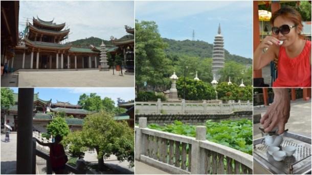 Tati Sato e algumas belas fotos em Xiamen.