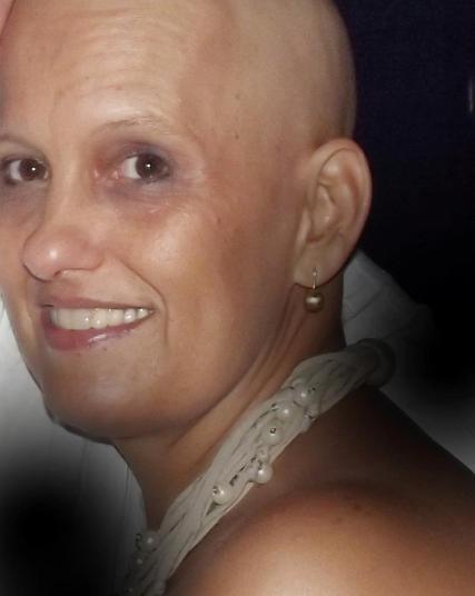 Silvana durante o tratamento -2012