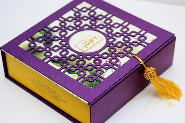O conteúdo pode não ter um sabor que nos agrade, mas as caixas são sempre maravilhosas! =]