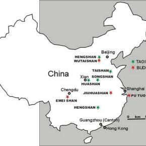 As Montanhas Sagradas daChina