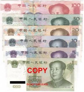 Dinheiro chinês – o Remembie –RMB