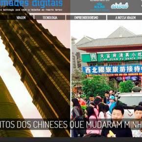 China na minha vida e nos 'Nômades Digitais'.