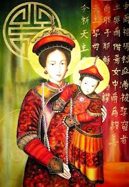 Dia das Mães e a Nossa Senhora daChina.