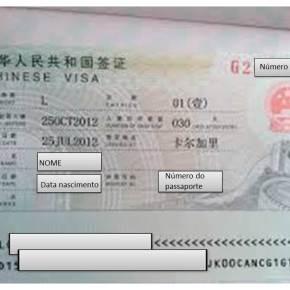 Ainda sobre VISAS, entradas e trabalho naChina