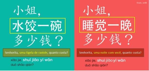 confusões da entonaçao chinesa