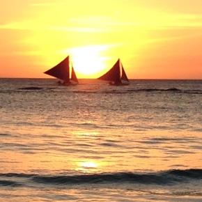 China para Filipinas – Enfim o paraíso –Boracay.