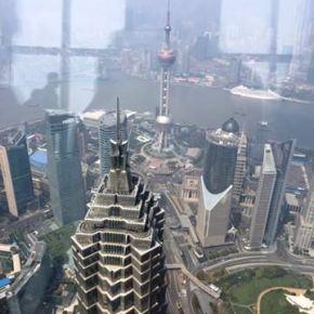 Shanghai – Redescobrindo a cidade – andando a pé emPudong.