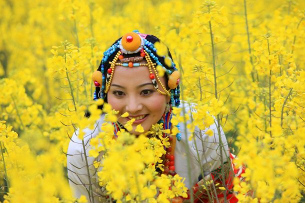 beautiful_girl___daocheng_yading___china