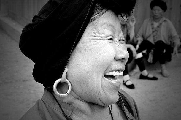 Foto de Cibele Câmara - mulher de Yangshuo (long hair village)