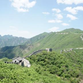 Turistando na Muralha daChina.