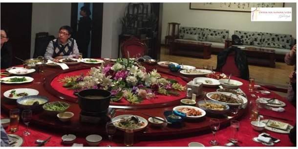 Meu último jantar chinês, no mês passado.