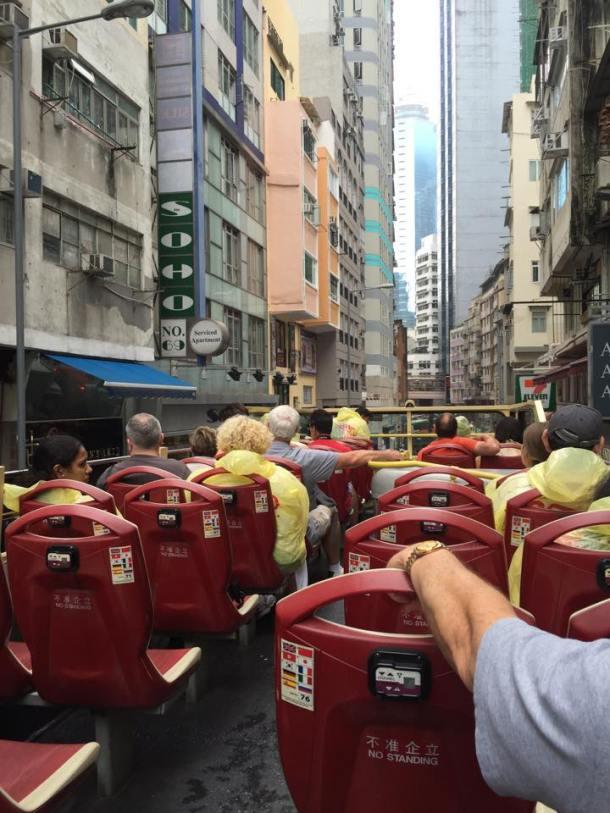Big Bus na parte de cima.