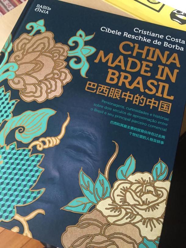 """Foto do livro """"China Made in Brasil"""" - capa."""