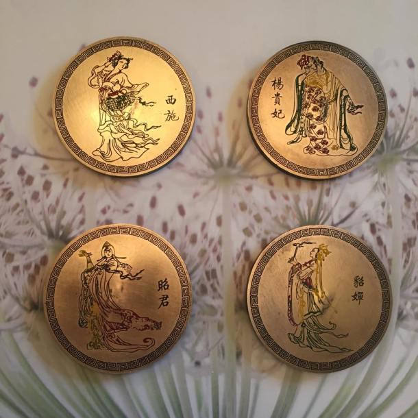 Minhas 4 belezas da China. Lindas, não?