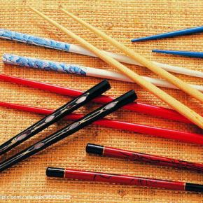 Kuàizi (chopsticks ou hashi) – os famosos pauzinhoschineses.