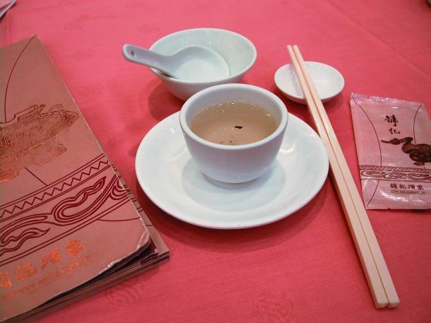 tradicional mesa para yum cha. Foto wikipédia.