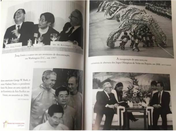 Foto das páginas internas do livro.