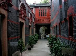 Shikumen – a habitação típica deShanghai.