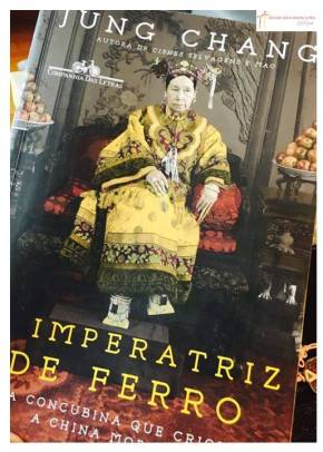 Livro – A Imperatriz de Ferro – A concubina que criou a Chinamoderna.