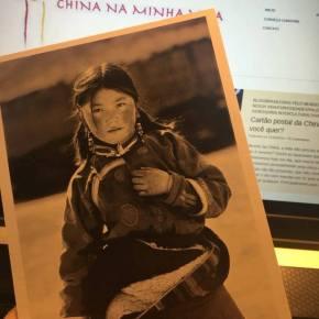 E quem vai receber o cartão postal daChina…