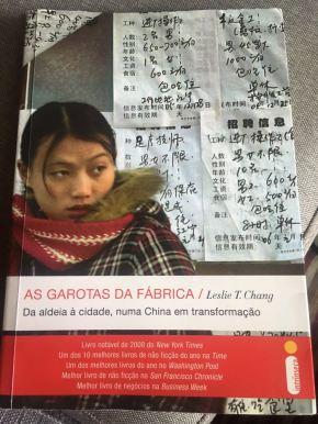 Livro: Garotas da Fábrica – Da aldeia a cidade, numa China emtransformação.
