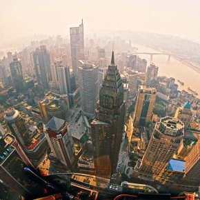 A rápida visita aChongqing