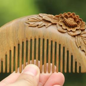 O pente de madeira na culturachinesa