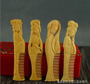 wood-carving-art-carved-four-beauties-font-b-boxwood-b-font-wooden-font-b-comb-b