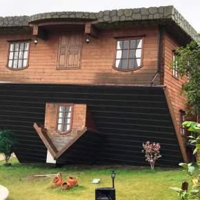A casa engraçada naChina!