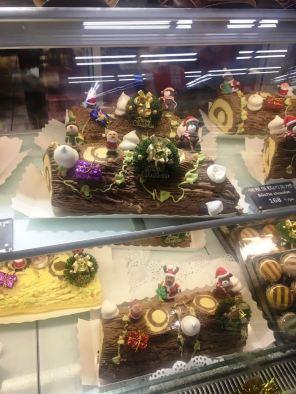 As lojas de doces...