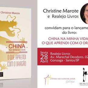 Lançamento do livro – China na minha vida – o que aprendi com o Dragão, noBrasil