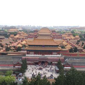 Parque Jingshan – a melhor vista da CidadeProibida