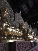 Um templo budista da etnia Bai