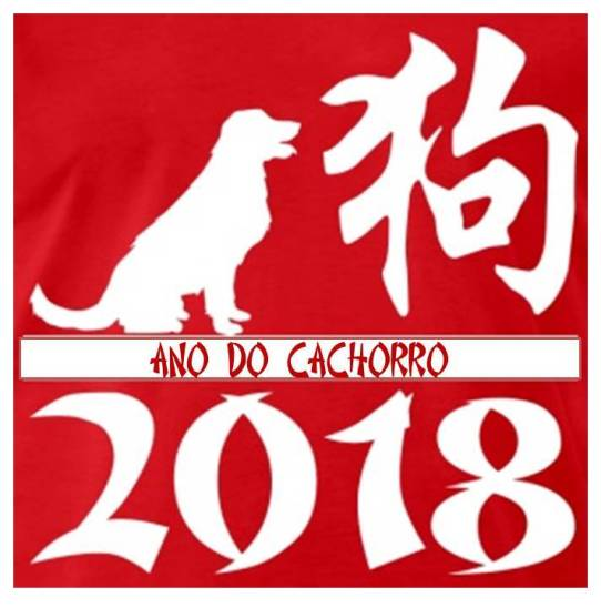 2018 ano do cão