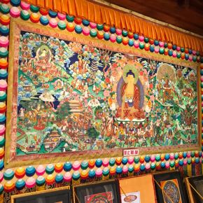 Thangka – a arte no budismotibetano