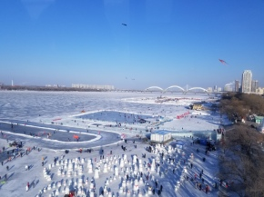 Harbin – aventuras no gelado RioSonghua