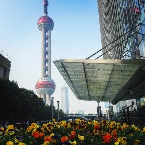 A Torre de Pérola deShanghai